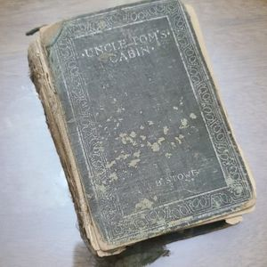Vtg Antique Tattered 1894 Uncle Tom's Cabin Book